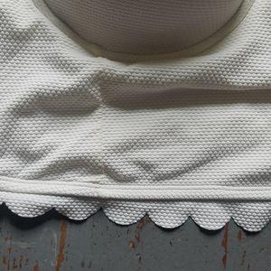 torrid Swim - Torrid 4 Color Block Underwire Pushup Bikini Top